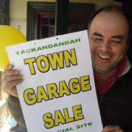 Yackandandah Town Garage Sale